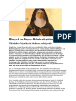 Hildegard Von Bingen 1-9
