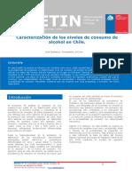 Boletin 4 Caracterización de los niveles de consumo de alcohol en Chile