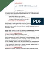 Walden University - BTX 9500BTX9500 Exam Sem 2. 100% Revised