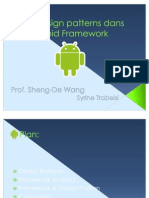 Les design patterns dans l'Android Framework