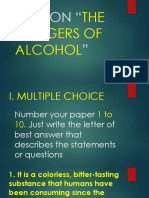 QUIZ (The Dangers of Alcohol).pptx