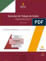 PPT OPCIONES DE GRADO FAC HUMANAS (1)