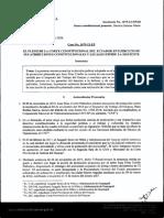 ACCION DE PROTECCION - DEBIDO PROCESO