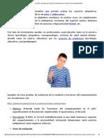 TDAH_ Instrumentos o pruebas para evaluar los problemas y_o Trastornos del comportamiento