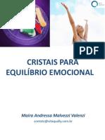 CRISTAIS PARA EQUILÍBRIO EMOCIONAL