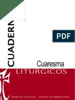 Cuaresma, Cuadernos Liturgicos, Carmelitas Descalzos, sl, sf.pdf
