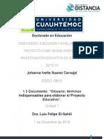 Glosario PE_Suarez Carvajal Johanna Ivette