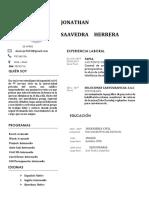 CV ingeniería civil