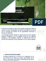 Toxicologia industrial y atropomtria