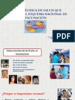 NORMA TECNICA DE SALUD. ESQUEMA NACIONAL DE VACUNACION