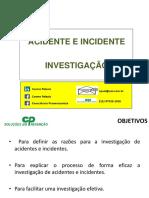 Cp Investigação de Acidentes e Incidentes