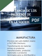 manufactura impacto