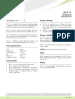 PDS Biocides - EC-111
