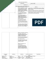 Plani Lenguaje 5º - unidad 1