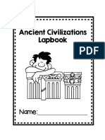 Ancient Civilization Lapbook