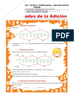 ACTIVIDADES SOBRE ADICION, SUSTRACCION, ENCUESTA Y TABLA DE FRECUENCIA