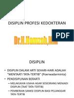 dr. Hamzah - KULIAH DISIPLIN kedOkteran - Copy