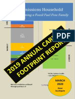 2019 Household Carbon Footprint Report