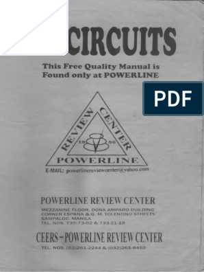 Power Line Ee Subjects Series And Parallel Circuits Electrical Impedance