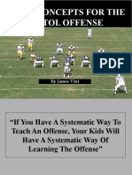 Pistol Offense Basic Concepts