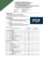 Soal Praktik PAI Kelas 6