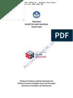 RUKIM.ID - Pedoman Kompetisi Sains Nasional (KSN) 2020 Resmi