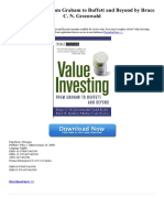 value-investing-from-graham-to-buffett-and-beyond