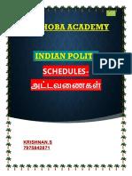12 Schedule