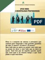 POWER POINT - UFCD - 0683-Ética e Deontologia Profissionais