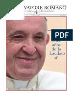 L'Osservatore Romano 6 de Marzo 2020