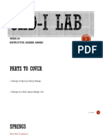 CAD-II Lab (Week-05)