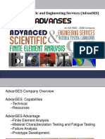 Advanced scientific and engineering services AdvanSES