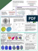 Poster sobre simulacion molecular de cristales liquidos