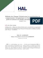 Notta - Méthode des Champs Virtuels pour la caractérisatio