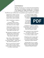 Análisis del Himno Nacional Dominicano