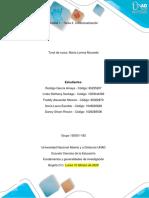 1. Trabajo grupal - Fundamentos y generalidades de investigación. Grupo 150001_192