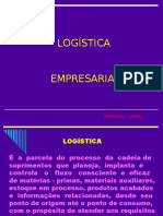 Apresentação - Treinamento - Gerencia de Vendas 1 - Logística Empresarial