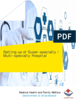 IP-UK- Setting Up Superspeciality - Multispeciality Hospital