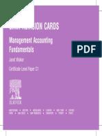[Janet Walker] CIMA Revision Cards Management Acc(BookFi)