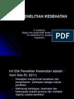 ETIKA PENELITIAN KESEHATAN - KULIAH PRABEDAH (2)