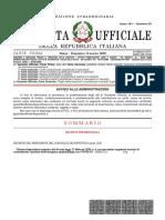 Dpcm coronavirus 8 marzo gazzetta ufficiale