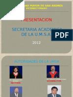 PRESENT SECRET ACAD 2012