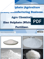 Zinc Sulphate (Agriculture Grade) Manufacturing Business. Agro Chemicals. Z.pdf