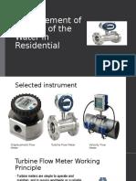 Measurements of water in residential by rvn mrcd