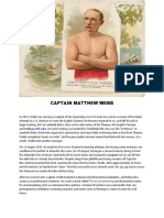 CAPTAIN MATTHEW WEBB