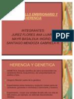 Desarrollo Embrionario y Herencia