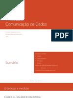 Comunicação de Dados P4