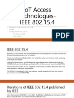 IoT Access Technologies
