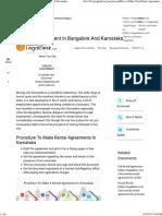 How to Make Your Rental Agreement in Bangalore & Karnataka