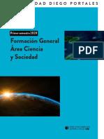 Catalogos Formación General Primer Semestre 2020 UDP